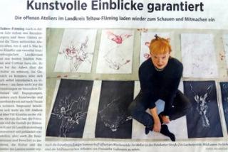 Presse im Wochenspiegel Teltow Fläming 2.Mai 19