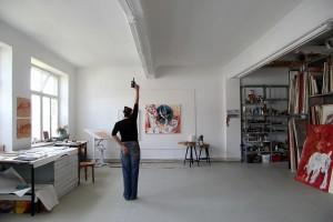 Kunstprojekt ARTISTINTHEWORLD  André Smits 30.04.2018 Babettes Kunstsalon ( Berlin)